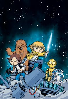 Star Wars #1 by Skottie Young * Have this, I must !!
