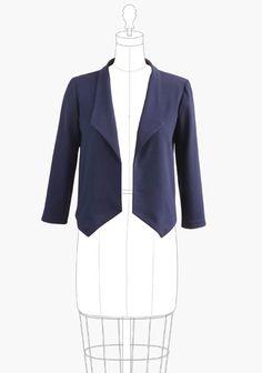 digital morris blazer sewing pattern