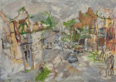 Stella Downer Fine Art - Dealer Consultant & Valuer - Featuring work by Rod Holdaway - Terraces