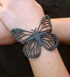 Pulseira Monarca   rubber-jewelry , jóias de borracha