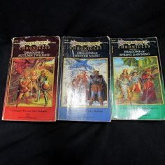 Dragonlance Chronicles Trilogy Volumes 1-3 By Margaret Weis and Tracy Hickman