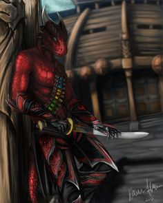 AmA - Argonian Mercenary Armor - With Armored Tail at Skyrim Nexus - mods and community