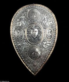 Shield for Francesco I de' Medici, 1570 by Benvenuto Cellini (1500-1571, Italy)