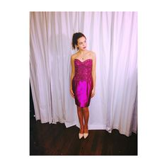 This dress is so lovely on Bailee Madison. | The Fosters
