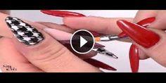 Nuovo Nail Art: Stile in acrilico con una decorazione unica