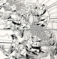 Groot Avengers, Comic Art, Comic Books, I Am Groot, Sketchbook Drawings, Rocket Raccoon, Marvel Comics Art, How To Make Comics, Guardians Of The Galaxy