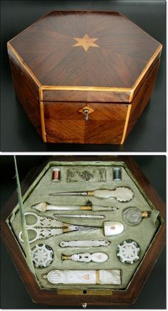 Royal Palais Sewing Set, Don't know if this is the correct time period, but it sure is awesome.