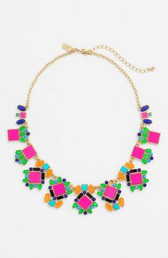 kate spade new york 'metropolis mosaic' necklace available at #Nordstrom