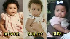 Beyonce' s daughter's look like her as a baby! Beyonce Fans, Beyonce Style, Beyonce And Jay Z, Beautiful Love, Beautiful Children, Beautiful Babies, Blue Ivy Carter, King B, Houston