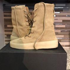 c76bd8b9 Yeezy Shoes | Yeezy Season 4 Crepe Boots Excellent Condition | Color:  Cream/Tan | Size: 9