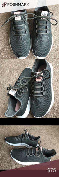 size 40 4ed08 fa270 Adidas Tubular Shadow Sneakers Olive Green 8.5 Adidas tubular shadow deep  olive green. Almost like