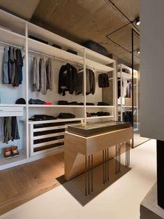 ♥ open-closet-design