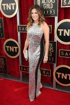 2014 SAG Awards, Rita Wilson looking the best I've seen her look, maybe.