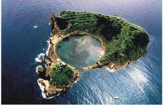 Ilheu de Vila Franca, Azores, Portugal