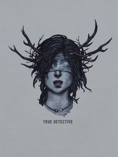 True Detective art by Yuri Shwedoff, via Behance
