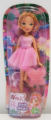 Flora World of Winx Style Magic! Doll