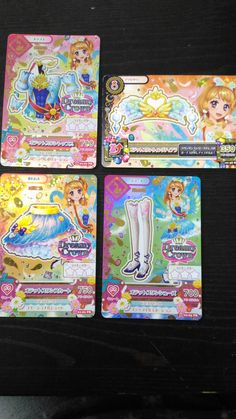 "Trading card of Japanese Idol Animation ""AIKATSU"" Premium Odetto swan coord 51"