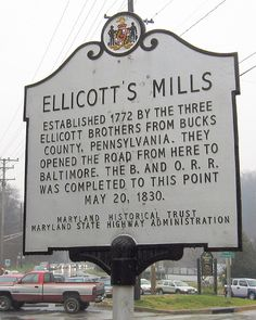 Ellicott City in Howard County, MD. Said to be the most haunted town in America!