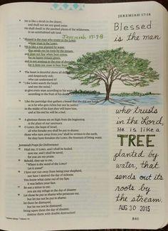 Jeremiah 17:7-8 - by Paula-Kay Bourland
