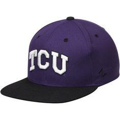 huge discount 43d0f 9f7bc Men s Zephyr Purple TCU Horned Frogs Z11 Snapback Adjustable Hat