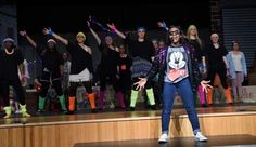 """Tatyana Victor performs in East Stroudsburg High School North's production of """"Godspell"""" on April 7, 2015."""