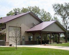 Barn Homes On Pinterest Metal Buildings Living And