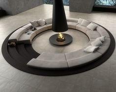 Caminetti moderni e di design (Foto 15/40) | Design Mag