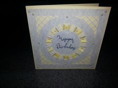 Butterfly Pearl Birthday card