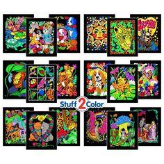 Horizon Group USA SpongeBob SquarePants Velv-its Super Coloring ...