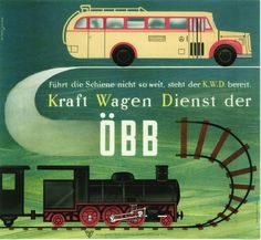 Austrian Railways Vintage Travel Poster Train Posters, Railway Posters, Vintage Travel Posters, Poster Vintage, Underground Lines, Welcome Aboard, Vintage Graphic Design, Poster Prints, Travel Europe