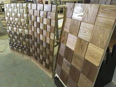 wood mosaic, oak mosaic, wood panels,