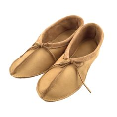 hand-made mens ladies natural leather suede slippers moccasins all size 6-12