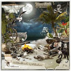 """""""Blackbeard's Adventures"""" by Eenas Creation #MischiefCircus"""