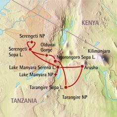 Vakantie in Serengeti National Park in Tanzania