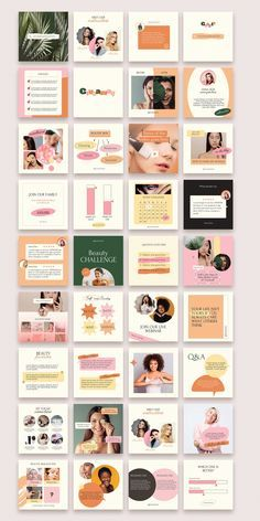 90 Instagram Post Templates Product Based Business