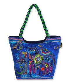 Loving this Blue Canine Family Large Tote on #zulily by Laurel Burch, $22 !!   #zulilyfinds
