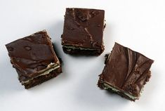 MINT BROWNIESMakes cup sugar½ teaspoon salt½ cup butter, can ounces) Hershey's chocolate syrup ½ teaspoon Hershey Chocolate, Chocolate Syrup, Holiday Cookie Recipes, Holiday Cookies, Mint Brownies, Tea Cookies, Family Meals, Sweet Recipes, Favorite Recipes