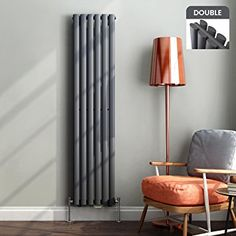 Vertical radiators come in all styles & sizes! Choose from small or tall radiators, flat panel, tube or vertical column radiators. Vertical Radiators, Central Heating Radiators, Column Radiators, Contemporary Design, Modern Design, Designer Radiator, White Paneling, Homes, Ideas