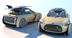 "MINI Electric ""Tomboy"" Concept Looks Perfect - autoevolution The actual Batmobile appeared to be actually All Electric Cars, Evolution, Transportation Design, Automotive Design, Amazing Cars, Tomboys, Motor Car, Cool Cars, Classic Cars"