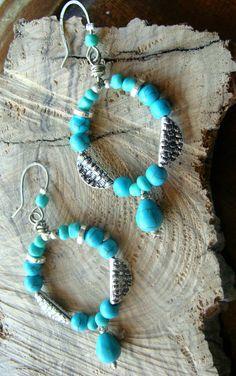 Turquoise Bracelet, Jewels, Bracelets, Fashion, Moda, Jewerly, Fashion Styles, Bracelet, Gemstones