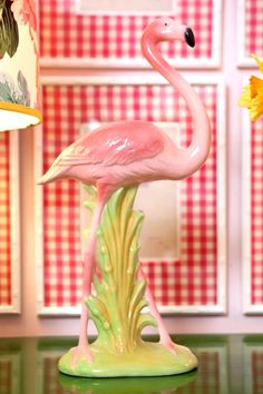 Pink Flamingo. I have NO idea what I love so much about this decoration. Maybe because it is just so cheesy!