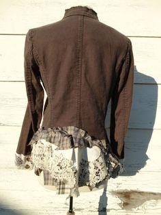 Upcycled Clothing / Upcycled Rustic Jacket / by CuriousOrangeCat