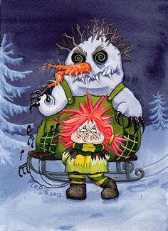 frosty the evil snowman - A Twisted Christmas