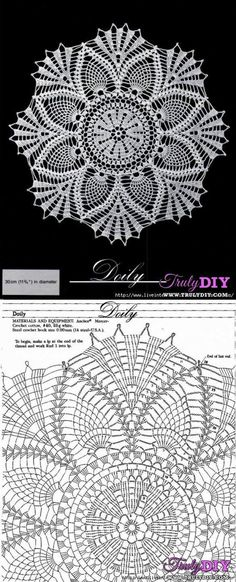This Pin was discovered by Amb Crochet Mandala Pattern, Crochet Diagram, Crochet Chart, Thread Crochet, Filet Crochet, Knit Crochet, Crochet Wall Art, Crochet Home, Chevron Crochet