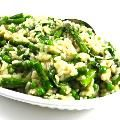 Skinny Asparagus Risotto with Weight Watchers Points | Skinny Kitchen