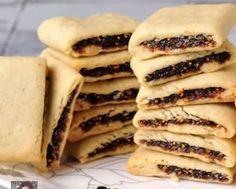 Receta de las famosas Galletas Newtons Bakery Recipes, Cookie Recipes, Dessert Recipes, Brownie Cookies, Cupcake Cookies, Cupcakes, Clean Recipes, Sweet Recipes, Yummy Snacks
