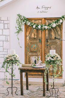 Στολισμος εκκλησιας γαμου Wedding Decorations, Wedding Ideas, Mirror, Green, Color, Home Decor, Decoration Home, Room Decor, Mirrors