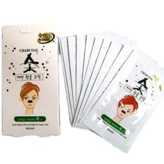 NESURA Charcoal Pore Strips Black Head Remover 8 pcs ** For more information, visit image affiliate link Amazon.com Korean Face Mask, Pore Strips, Lush Bath Bombs, Pore Cleansing, Skin Mask, How To Make Diy, Blackhead Remover, Anti Aging Skin Care, Skin Care Tips