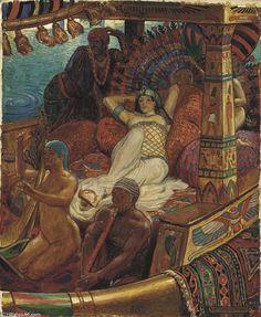 """""""Cleopatra"""" di John Byam Liston Shaw (1872-1919, India)"""