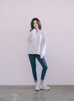 Korean Fashion – How to Dress up Korean Style – Designer Fashion Tips Ulzzang Girl Fashion, Korean Girl Fashion, Korean Fashion Trends, Korean Street Fashion, Korea Fashion, Asian Fashion, Casual Outfits, Cute Outfits, Fashion Outfits